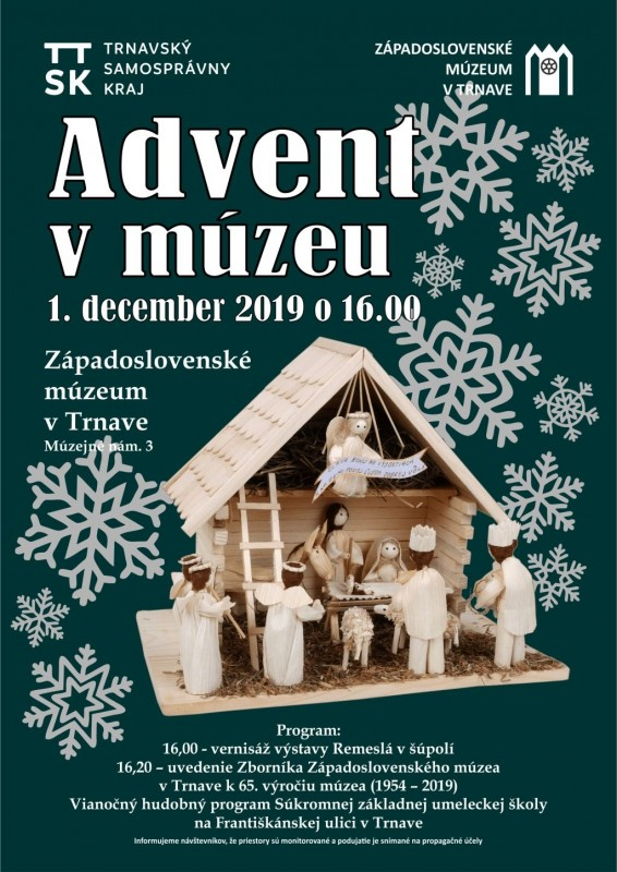 Advent v múzeu